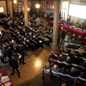 26.02.2019 // Presentazione a Palazzo Ducale - Sala del Piovego